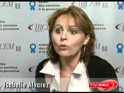 Isabelle alvarez sodeasoft au salon des services la for Salon service a la personne