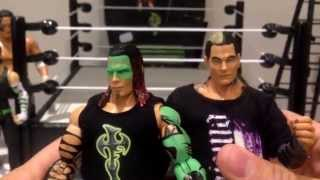 TNA Impact wrestling Glow paint exclusive Jeff Hardy ringside collectibles figure review