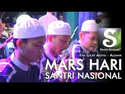 Lirik Az-Zahir - Mars Hari Santri Nasional 2019