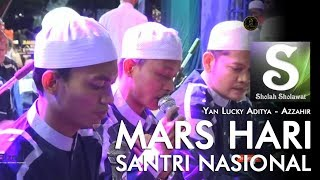 Download Lagu Lirik Az-Zahir - Mars Hari Santri Nasional 2019 mp3