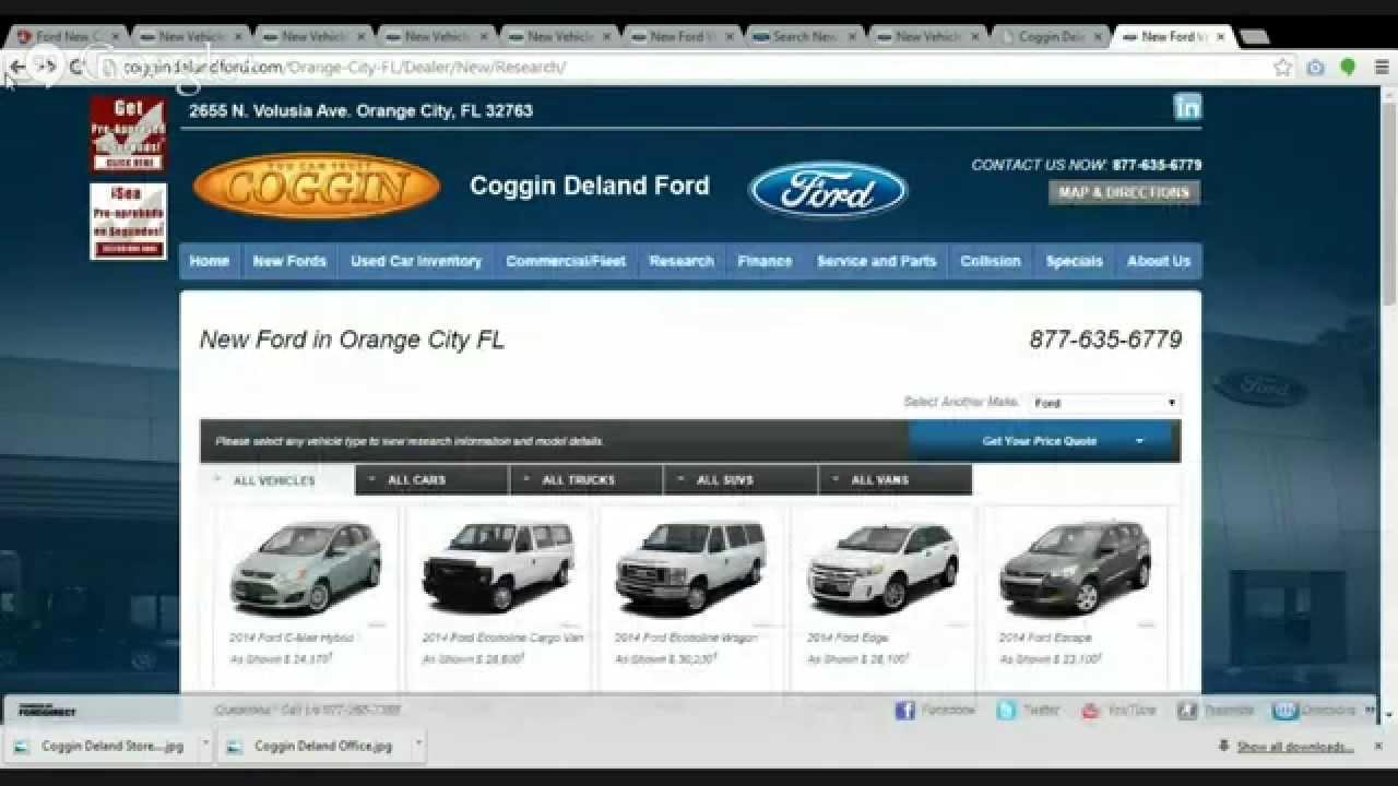 Orlando Ford Dealers >> Ford Dealer Coggin Deland Ford In Orlando And Daytona Review