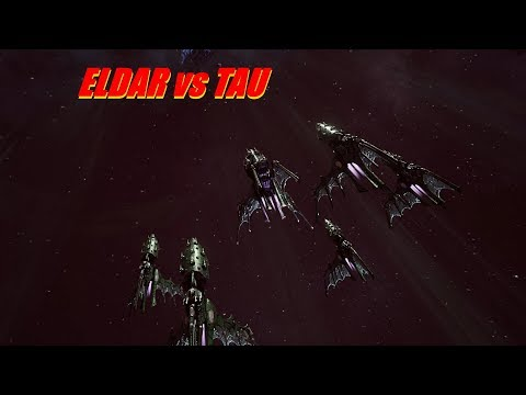 Eldar vs TAU! Rank 72, Heroic Difficulty, 1500 Points - Battlefleet Gothic Armada