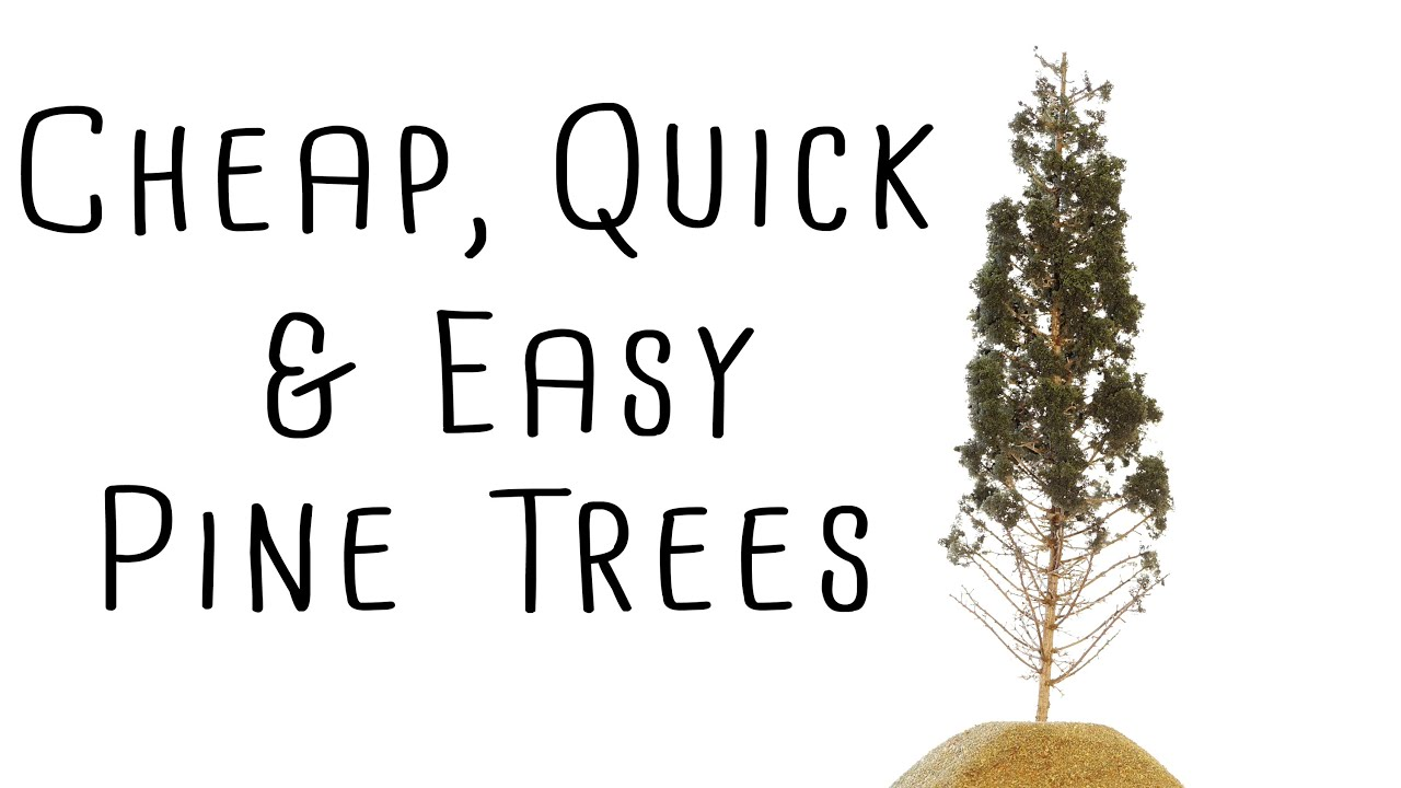 Modeling Realistic Pine Trees, Cheap! Fast! and Very Easy! – How-To ...