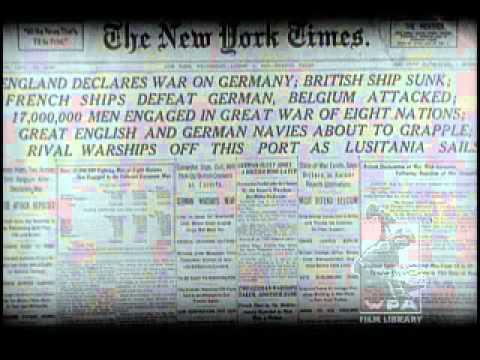 First World War Starts