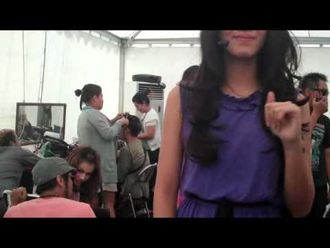 Test Princess backstage  I-POP SCTV 19 november 2011