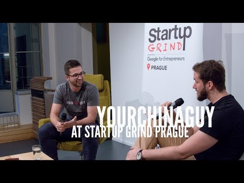 YourChinaGuy at Startup Grind Prague: China, Startups, Gary Vaynerchuk & Motivation