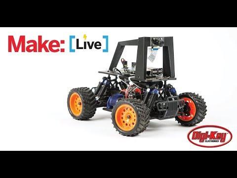 Make: Live - Raspberry Pi Robo Car