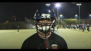 Jagdfieber 11.11.2016 - Vertragsverlängerung und Football-Training