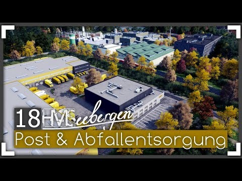 POST & ABFALLENTSORGUNG - Seebergen Episode 18 | Let's Design Cities: Skylines
