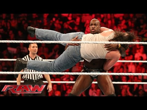 The Prime Time Players vs. Luke Harper & Braun Strowman: Raw, Sept. 28, 2015