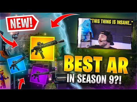 THE *NEW* TACTICAL ASSAULT RIFLE Fortnite Battle Royale