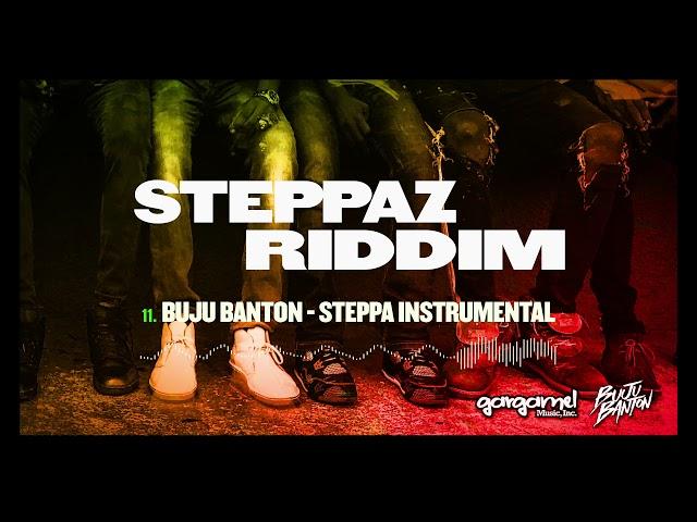Buju Banton: Steppa Instrumental (Steppaz Riddim Official Audio) | Dancehall 2020
