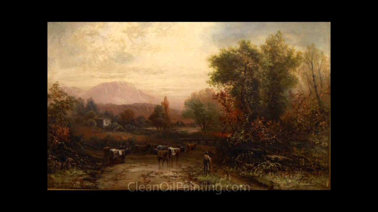 Oil painting restoration youtube oil painting restoration solutioingenieria Image collections