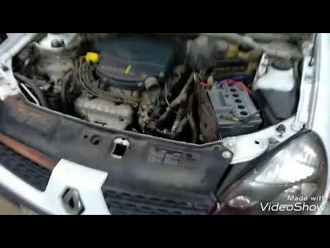 Замена радиатора печки на Renault Clio 2 Symbol