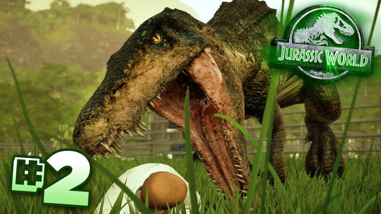 The Carnivores Are Here Jurassic World Evolution Claire S Sanctuary Ep2 Hd Youtube