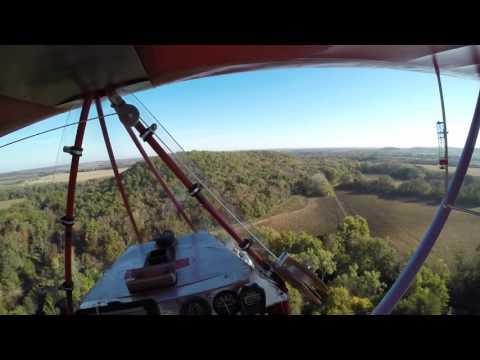 POV Kansas Flight in Legal Eagle XL Ultrallght