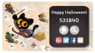 Google Doodle Halloween 2016   World Record? (531840 Points)