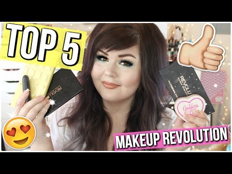 top 5 favorite makeup revolution products 2017