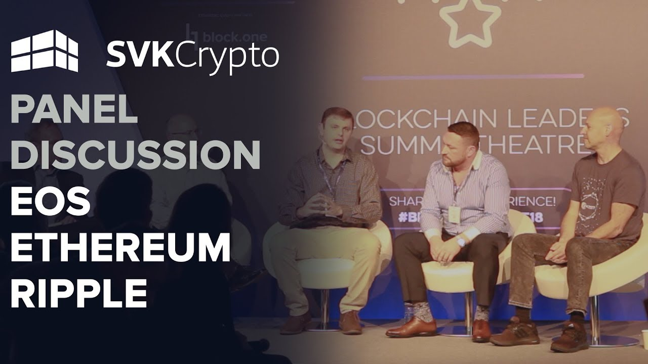 Incredible Panel Discussion with EOS, Ethereum and Ripple at Blockchain Live