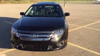 New car! 2012 Ford Fusion Sport