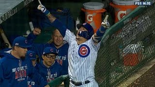 SF@CHC Gm1: Baez breaks the tie with a solo home run
