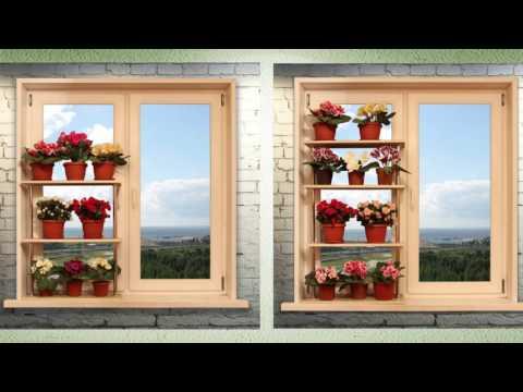 Подставки для цветов на подоконник из МДФ