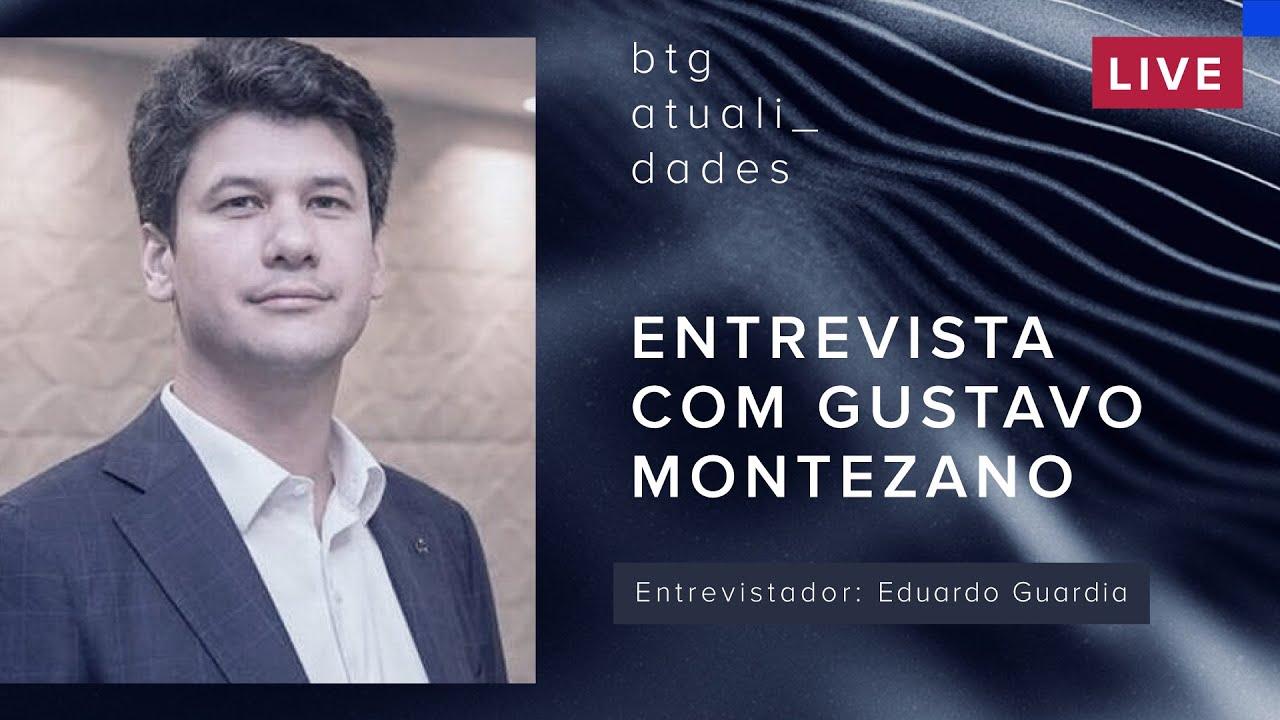 Entrevista com Gustavo Montezano, presidente do BNDES