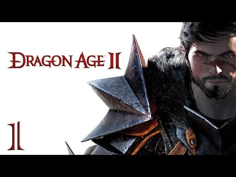 Прохождение Dragon Age 2 - часть 1:Беглецы