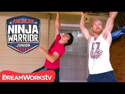 [FULL CLIP] AMERICAN NINJA WARRIOR JUNIOR | OG Ninjas Train With Junior Ninja Vance
