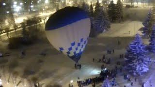 Воздушный шар на Рождество