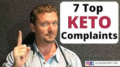 Top 7 Ketogenic Diet Complaints (Beginners Watch This!)