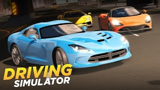 Обзор игры Driving Simulator (роблокс)