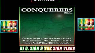 Conquerers Riddim ✶ Promo Mix March 2016✶➤Reggae  livication Records By DJ O. ZION