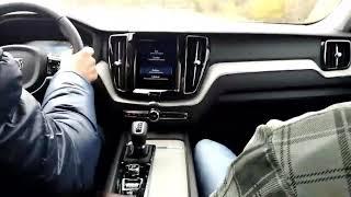 Тест драйв и обзор Volvo XC60 разгон до 200 км час 2018