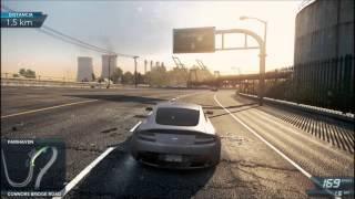 NFS Most Wanted 2012  Primera carrera y explicacion del juego