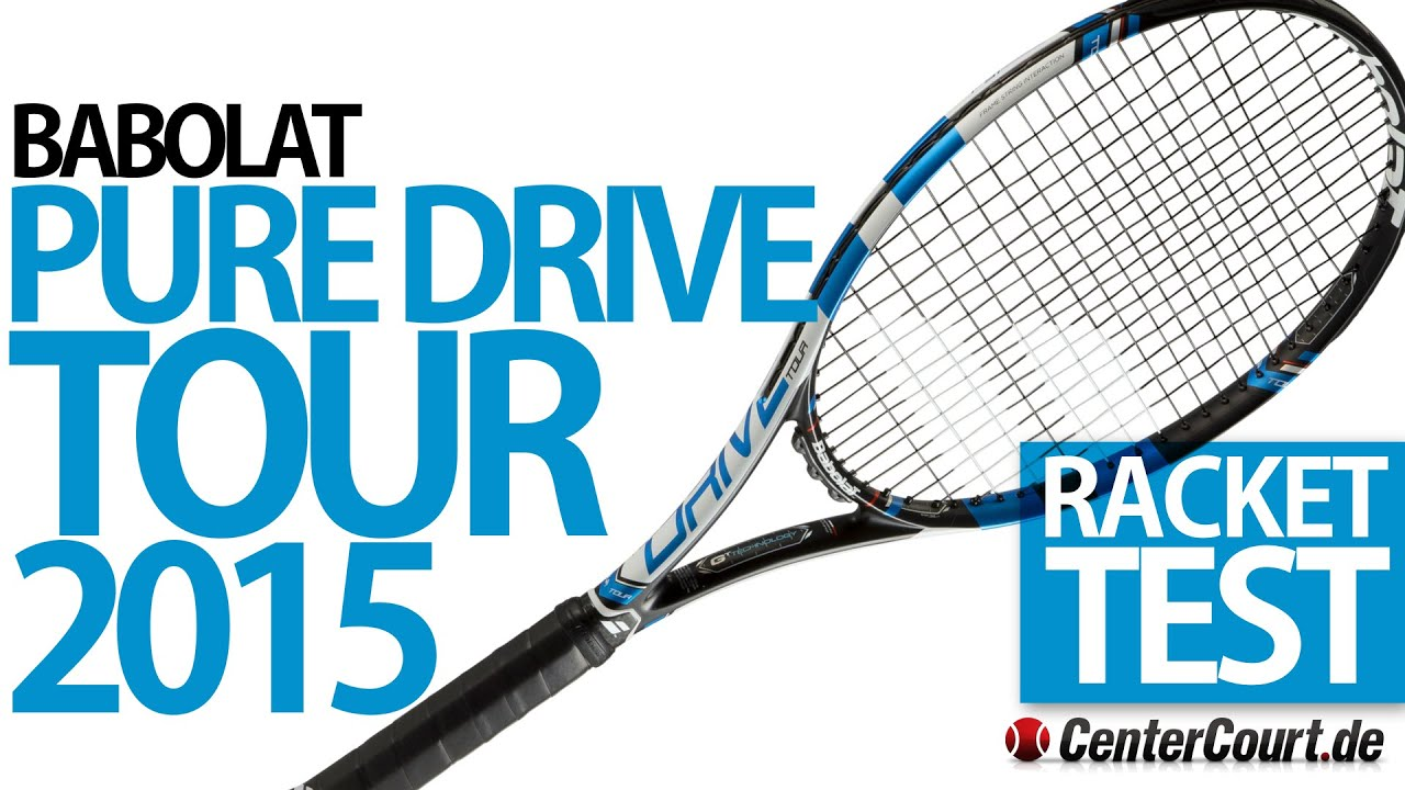 babolat pure drive tour 2015 im test youtube. Black Bedroom Furniture Sets. Home Design Ideas