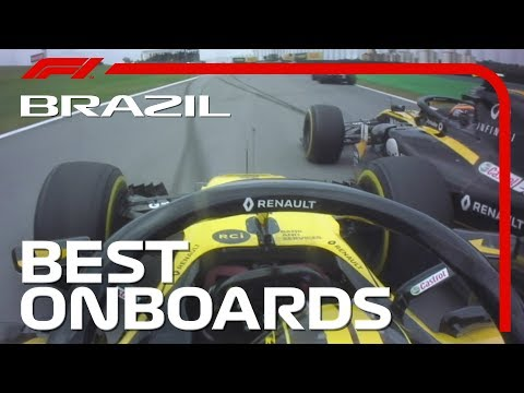 Max Gets Mad + All The Best Onboards   2018 Brazilian Grand Prix