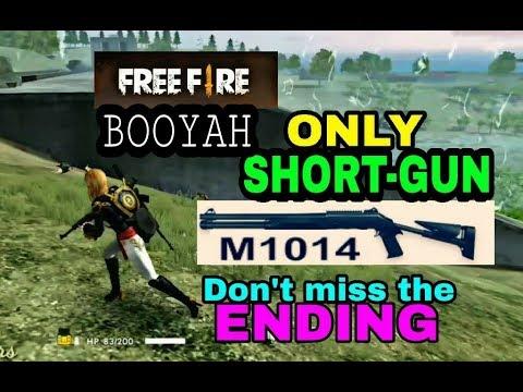 Only Short Gun M1014 Insane Game In Free Fire ! Desi Gamers