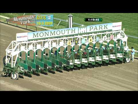 video thumbnail for MONMOUTH PARK 10-3-20 RACE 2
