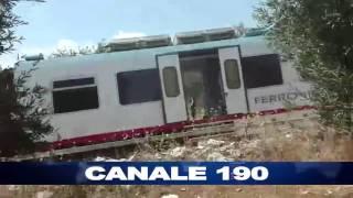 10 قتلى على الأقل في تصادم قطارين جنوب إيطاليا