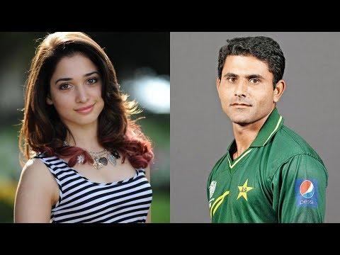 Pakistani cricketer Abdur Razzaq married Indian actress Tamanna Bhatia?