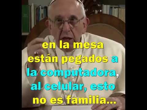 En la mesa con Francisco, el Papa