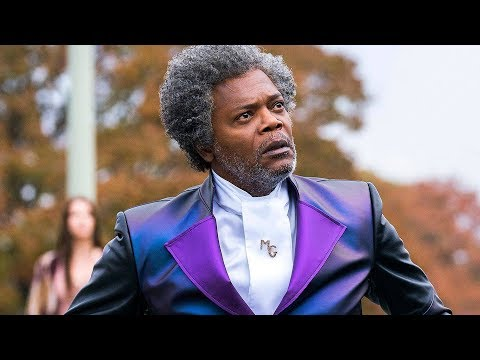 First Official Picture Of Samuel L Jackson In Glass