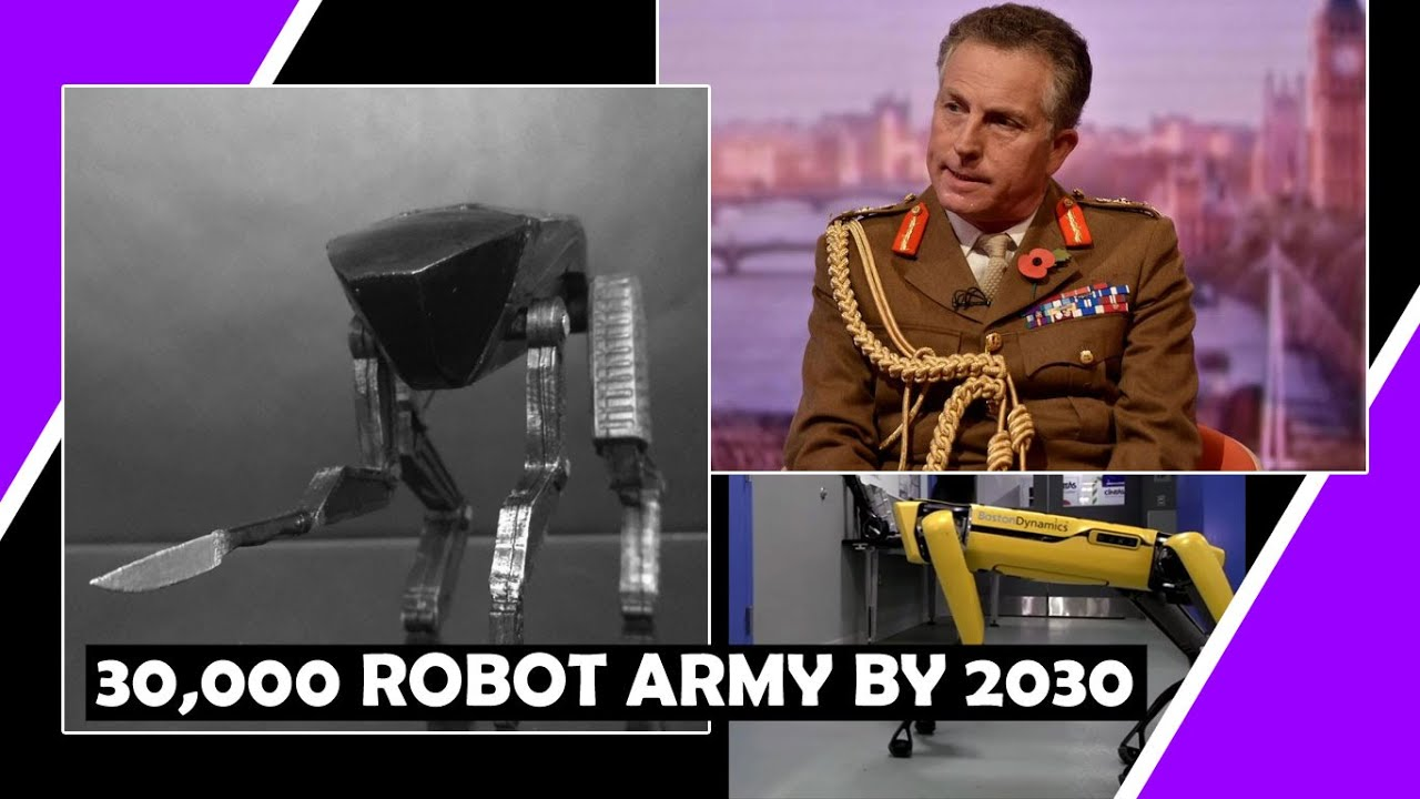 30,000 Robot ? Army By 2030 Says Chief Commander / The Great Reset