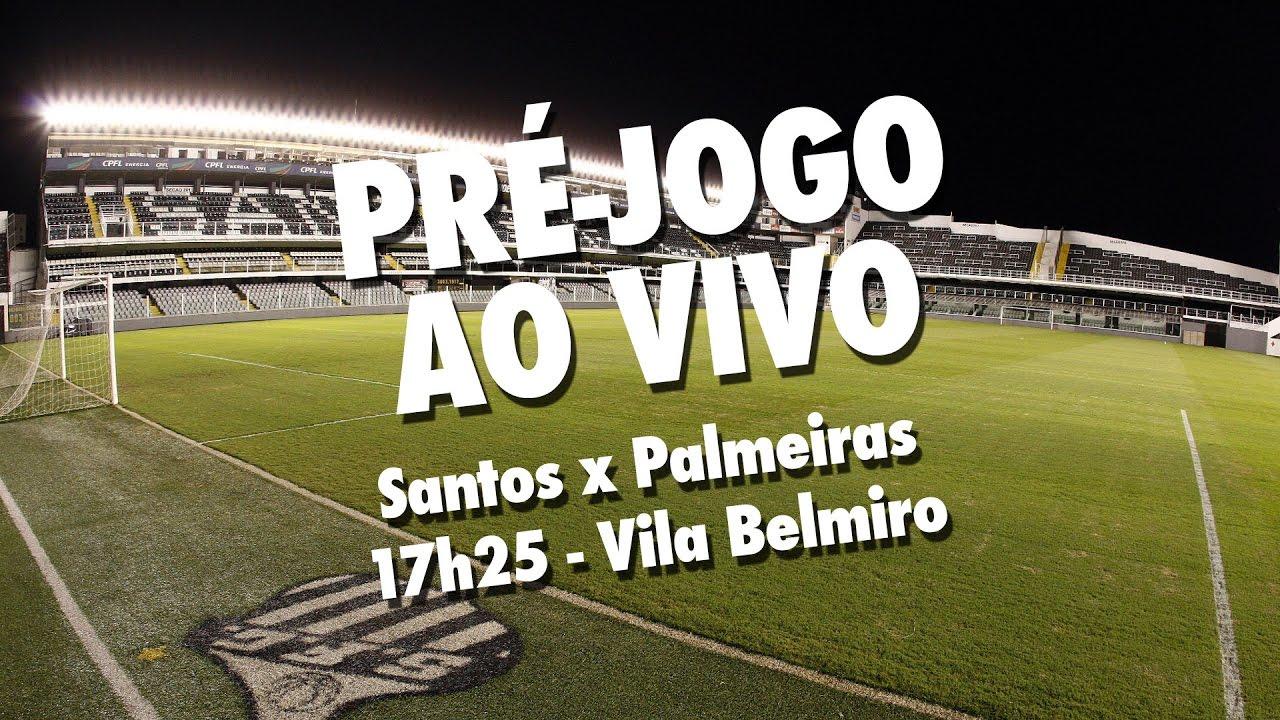17b96bc82b Santos x Palmeiras