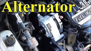 Video How to Replace an Alternator in a Car download MP3, 3GP, MP4, WEBM, AVI, FLV Februari 2018