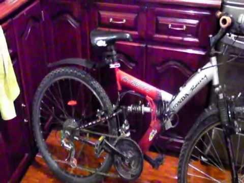 Hr 260fs Honda Racing Mountain Bike Review Youtube