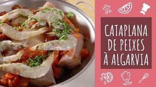 Cataplana De Peixes à Algarvia Teleculinária Youtube