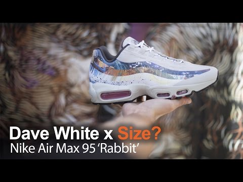 f6b901c7d0 Size? x Dave White Nike Air Max 95s!!! - YouTube