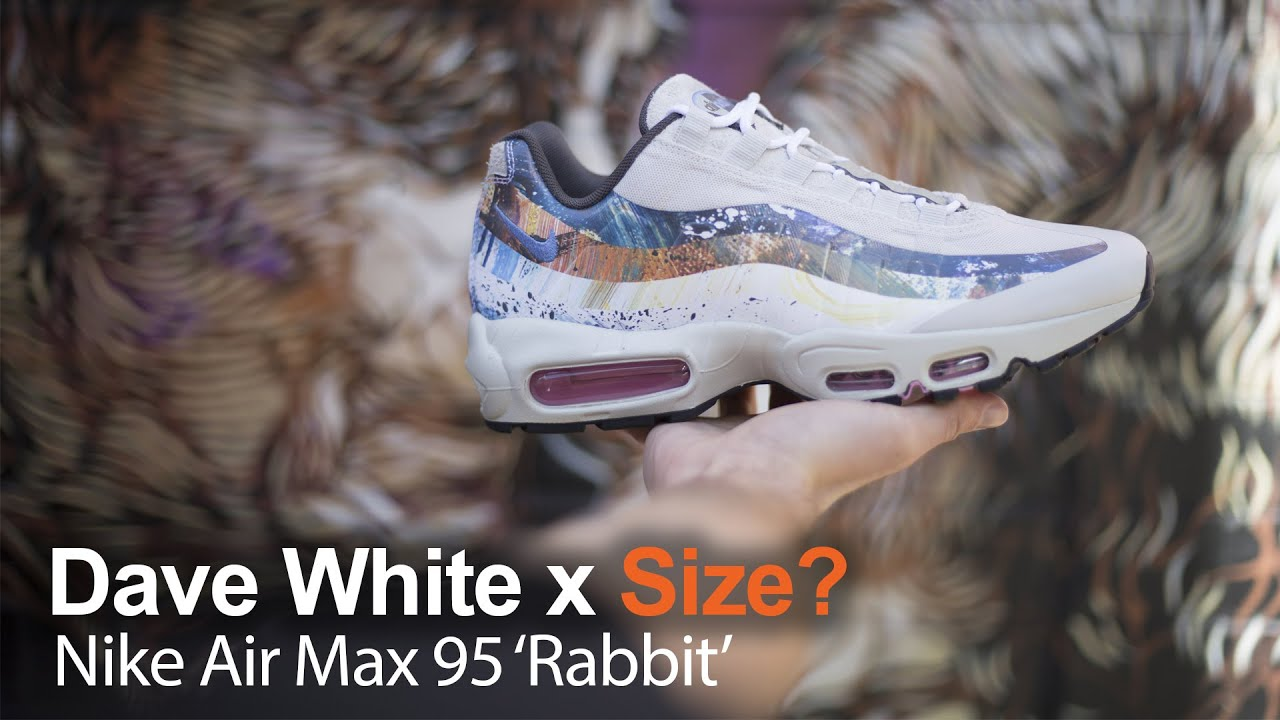 30e659836ecc25 Size  x Dave White Nike Air Max 95s!!! - YouTube